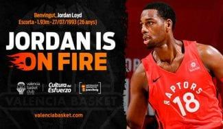 Oficial: Jordan Loyd llega al Valencia Basket desde los Toronto Raptors