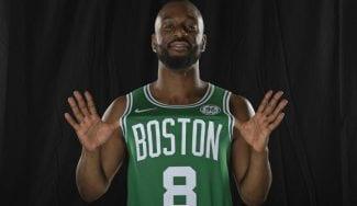 Kemba Walker no pretende ser mejor que Kyrie Irving en los Boston Celtics