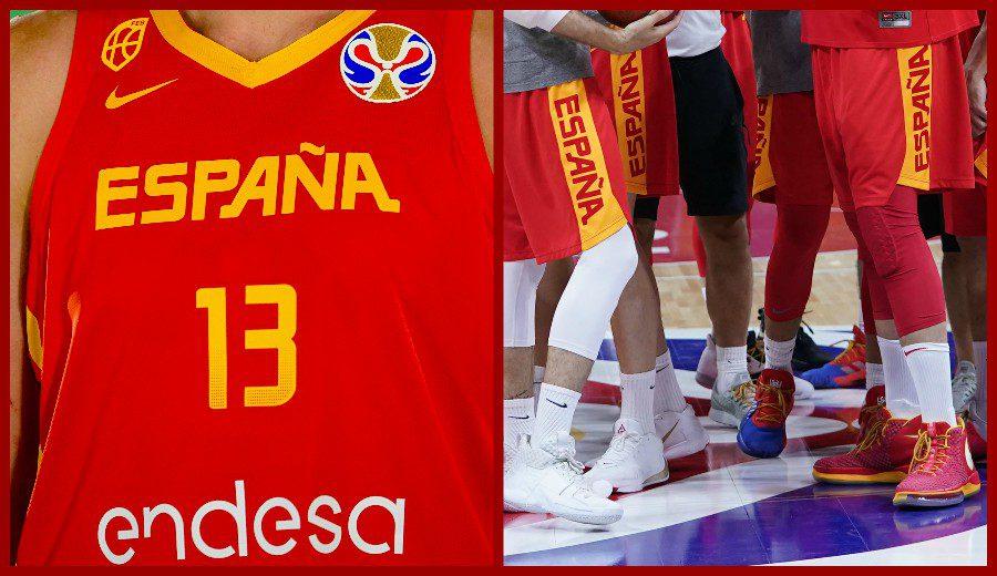 El armario nacional, la ropa y las zapatillas de la selección española