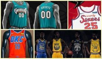 Varios equipos de la NBA estrenarán equipaciones esta temporada