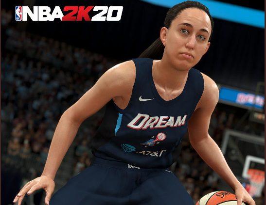 Histórico: Maite Cazorla, primera española que aparece en el NBA2K
