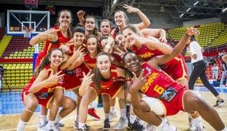 Chisomaga Okafor lidera a España para ganar el bronce en el EuroBasket sub-16
