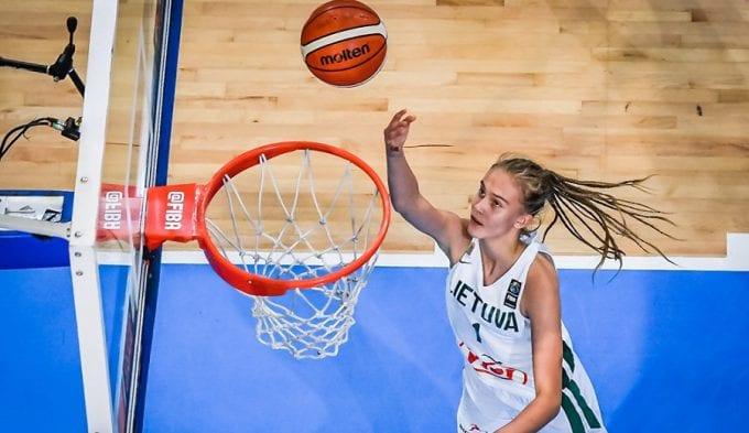Dominando el Europeo sub-16 con 13 años… y ahora va con la absoluta