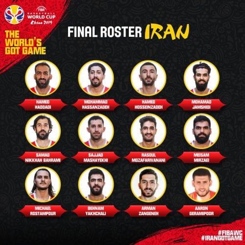 Otro rival de España, Irán, da a conocer su plantilla para el Mundial