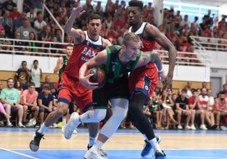 Manresa gana a Joventut en el primer amistoso entre equipos ACB