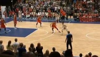 Un ACB le da el pase para el clasificatorio del EuroBasket a Dinamarca con un triplazo