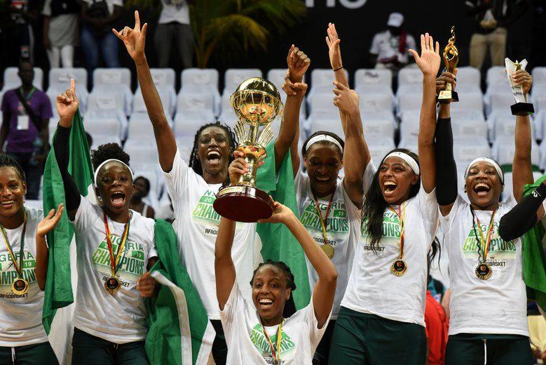 Dos jugadoras de la Liga DIA ganan el Afrobasket… destacando con Nigeria