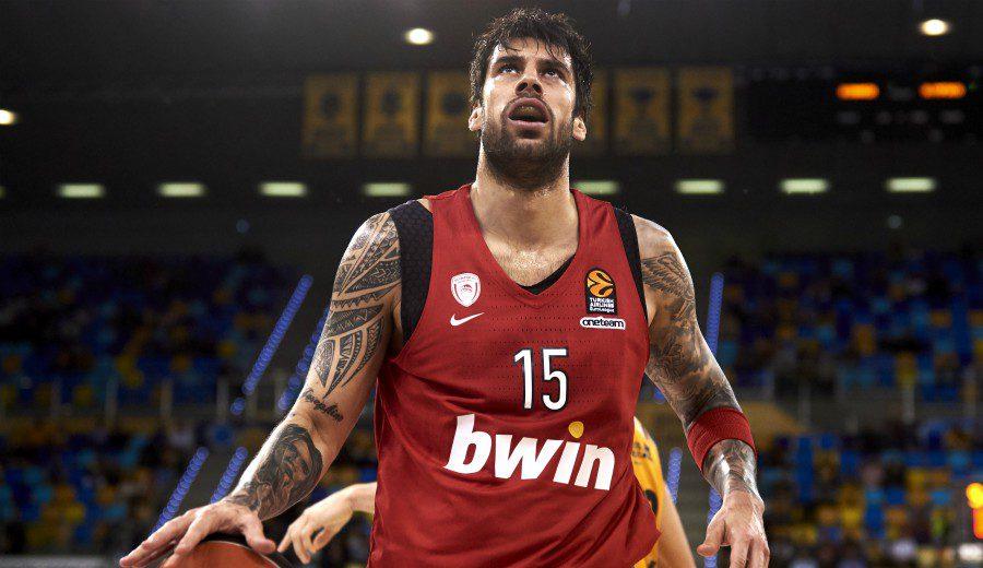 """Printezis, a pesar del descenso: """"Quiero acabar mi carrera en Olympiacos"""""""