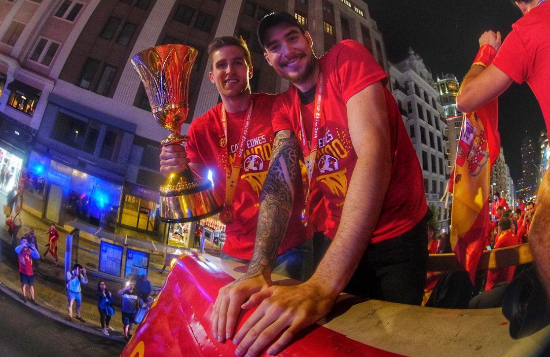 No estuvieron 'callaítos': así fue la bestial celebración del Mundial