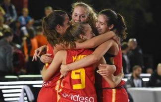 A España le va el 3×3: campeonas de Europa Sub-18 de esta manera