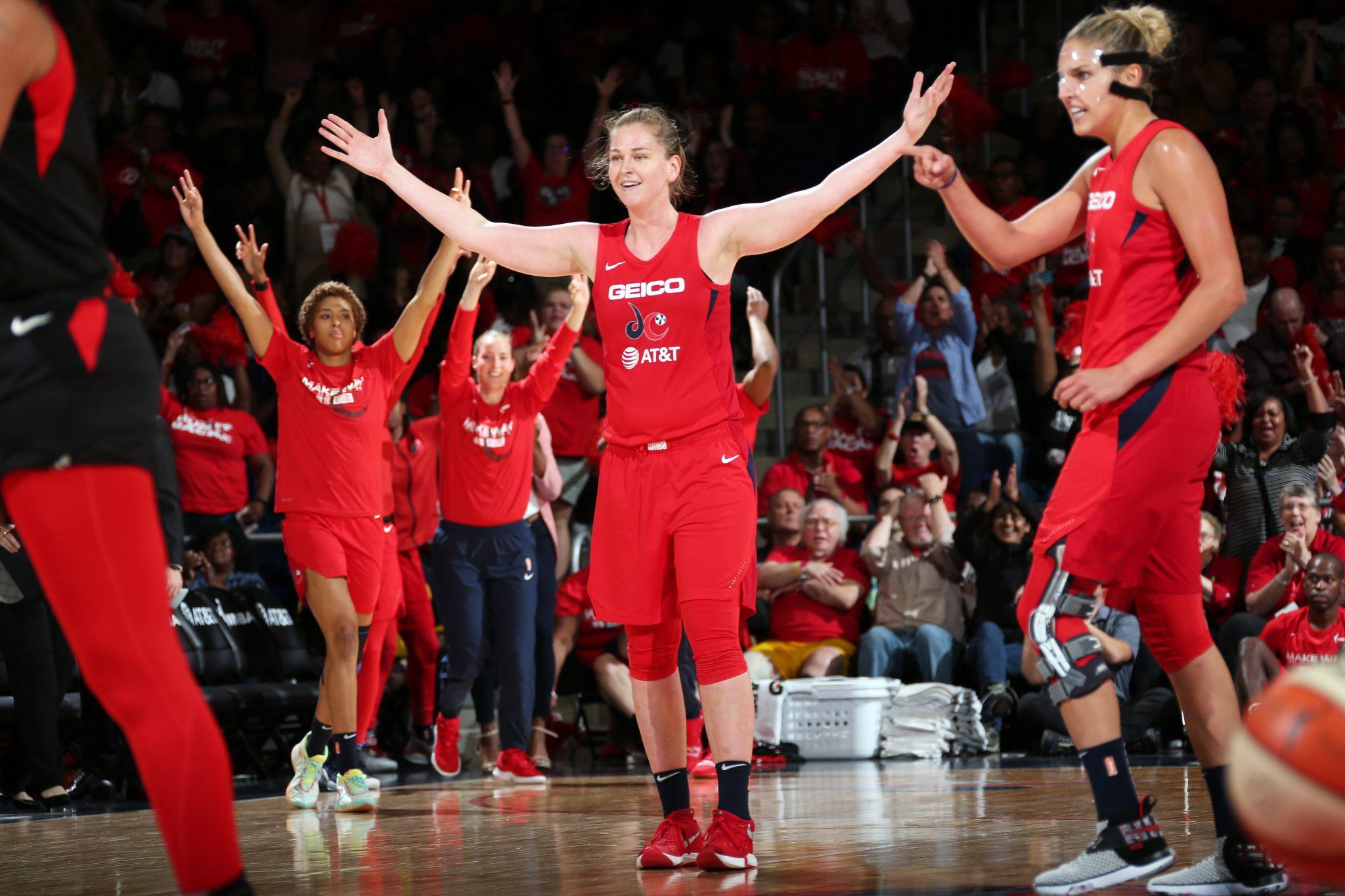 Washington Mystics y Connecticut Sun rozan las finales de la WNBA