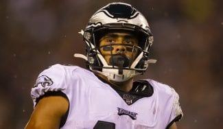 La saga sigue… pero en el fútbol americano: J.J. Arcega-Whiteside debuta en la NFL