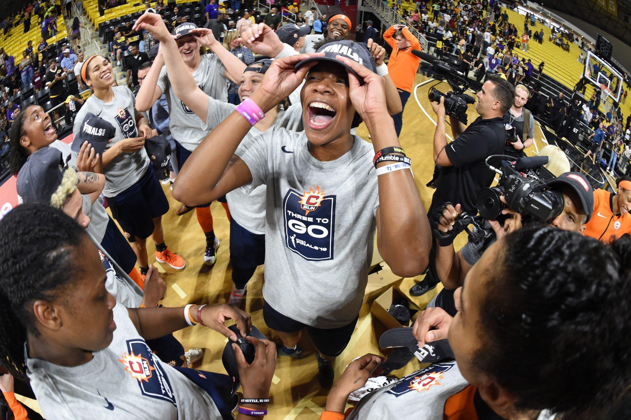 Connecticut Sun jugará las Finales de la WNBA 14 años después