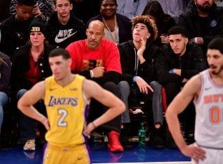 Tensión en la familia Ball: Lonzo reconoce casi no hablar con su padre