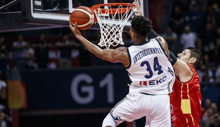 Giannis Antetokounmpo guía a Grecia en la victoria sobre Montenegro