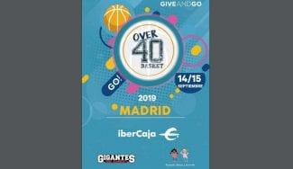 El Over40 Basket Madrid tendrá lugar este fin de semana en la capital