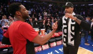 """Dwyane Wade sobre la situación de Carmelo Anthony: """"No se merece eso"""""""