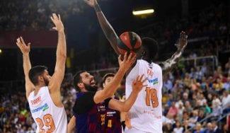 El Barça sufre pero sigue invicto tras vencer en la prórroga al Baskonia