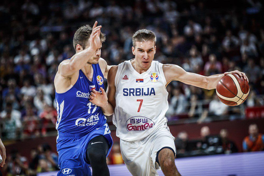 Serbia despierta a tiempo y acaba quinta: otro recital de Bogdanovic