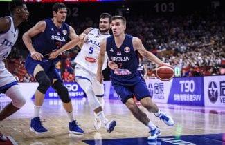 Un Bogdanovic infalible lidera otro triunfo de Serbia: ¡no falla triples!