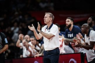 Vincent Collet se queja de la falta de descanso en el Mundial de China