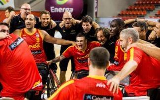 España peleará por el título europeo en silla de ruedas