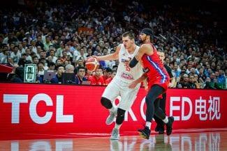 Otro festival de Serbia para asegurarse los cuartos de final del Mundial