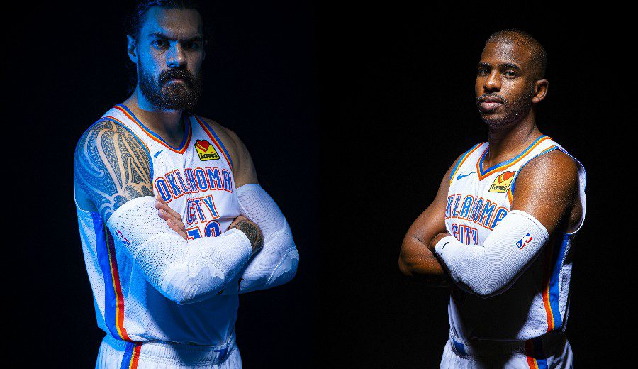 Los Thunder buscan traspasar a Chris Paul… ¡y a Steven Adams!