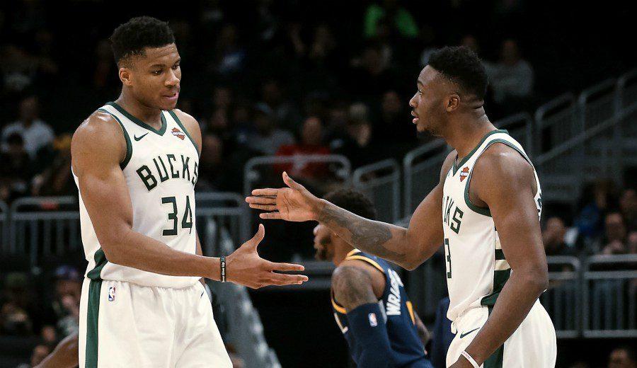 Los hermanos Antetokounmpo viven el sueño de jugar juntos en la NBA