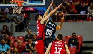 El RETAbet Bilbao Basket se hace fuerte ante el Montakit Fuenlabrada