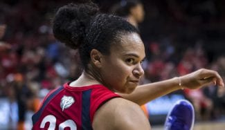 Las Mystics toman ventaja nuevamente en las finales de la WNBA