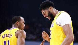Otra mala noticia para la NBA en China: Anthony Davis se lesiona