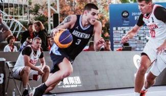 Juan de la Fuente, un mago argentino en el baloncesto 3×3