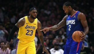 Raptors y Clippers sonríen en la jornada inaugural de la NBA