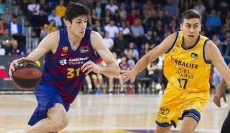 Debuta otro canterano del Barça, que gana fácil al Gran Canaria