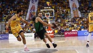 La Penya sobrevive al partidazo de Beirán y gana en Las Palmas