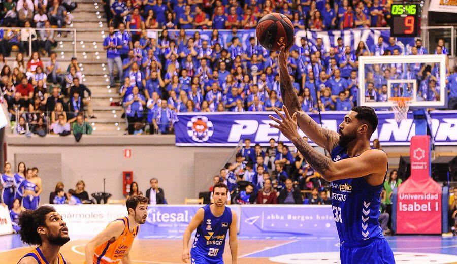El Valencia Basket espanta los fantasmas con una paliza al Burgos