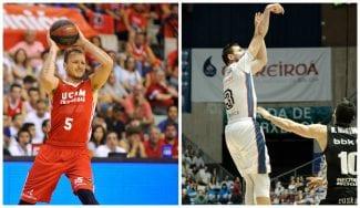 El UCAM Murcia vence a base de triples y el Monbus Obradoiro tras dos prórrogas