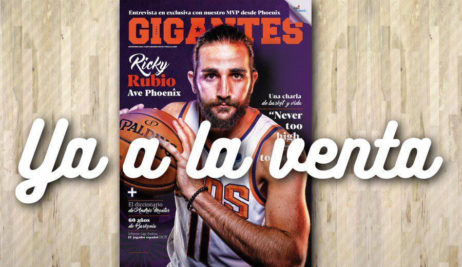 Ricky Rubio, mucho más allá del basket. Contenidos de la revista de noviembre