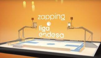 Jinetes, amagos de futbolistas y mucha fiesta en el Zapping de la Liga Endesa