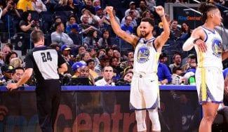 Curry afina la puntería en pretemporada: ¡40 puntos en 25 minutos!