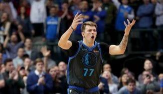 Bronca de Doncic: rifirrafe con Terance Mann en el triunfo sobre Clippers