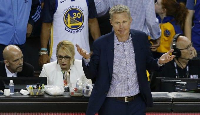 Steve Kerr, preocupado con los nuevos Warriors… ya en pretemporada