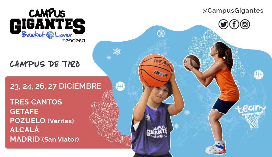 ¡Vuelve el Campus Gigantes Basket Lover de tiro para esta Navidad!