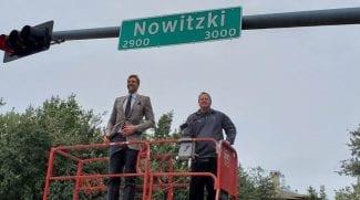 Nowitzki Way: Dallas homenajea a su gran leyenda dándole una calle