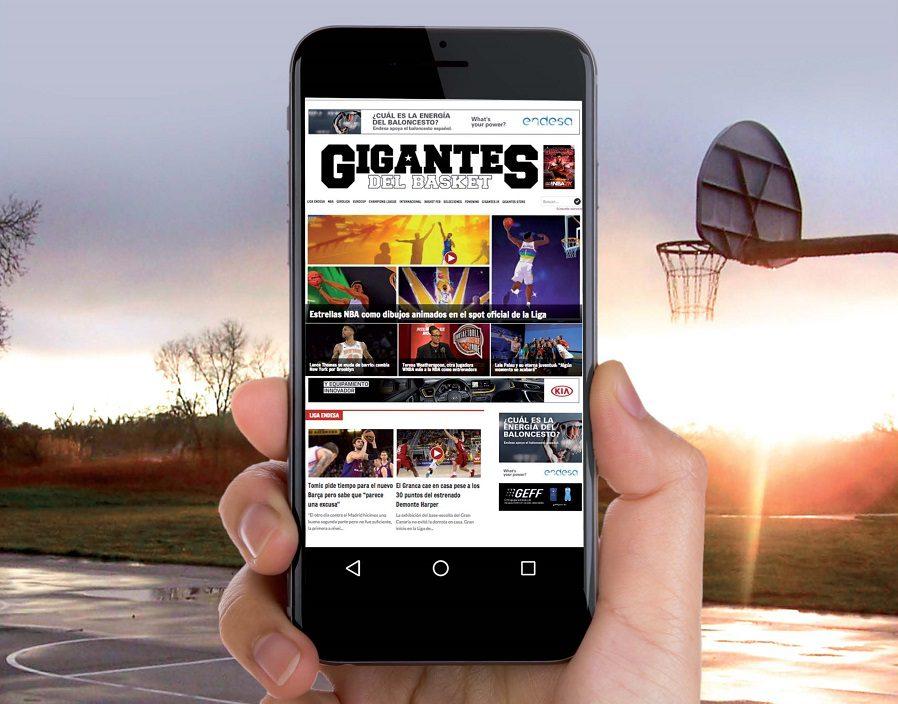 Gigantes refuerza su apuesta por el contenido online