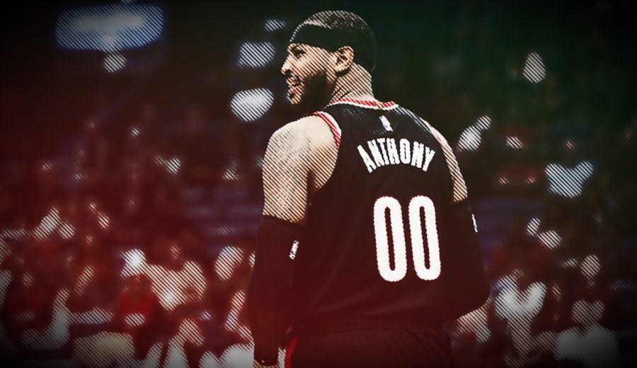 ¿Por qué usa Carmelo Anthony el número 00 en Portland?