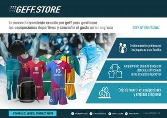 GEFF simplifica la gestión de las equipaciones para los clubes