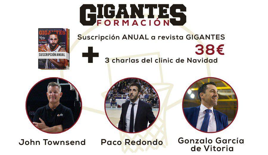 Formación y basket: te presentamos los clinics de navidad de Gigantes