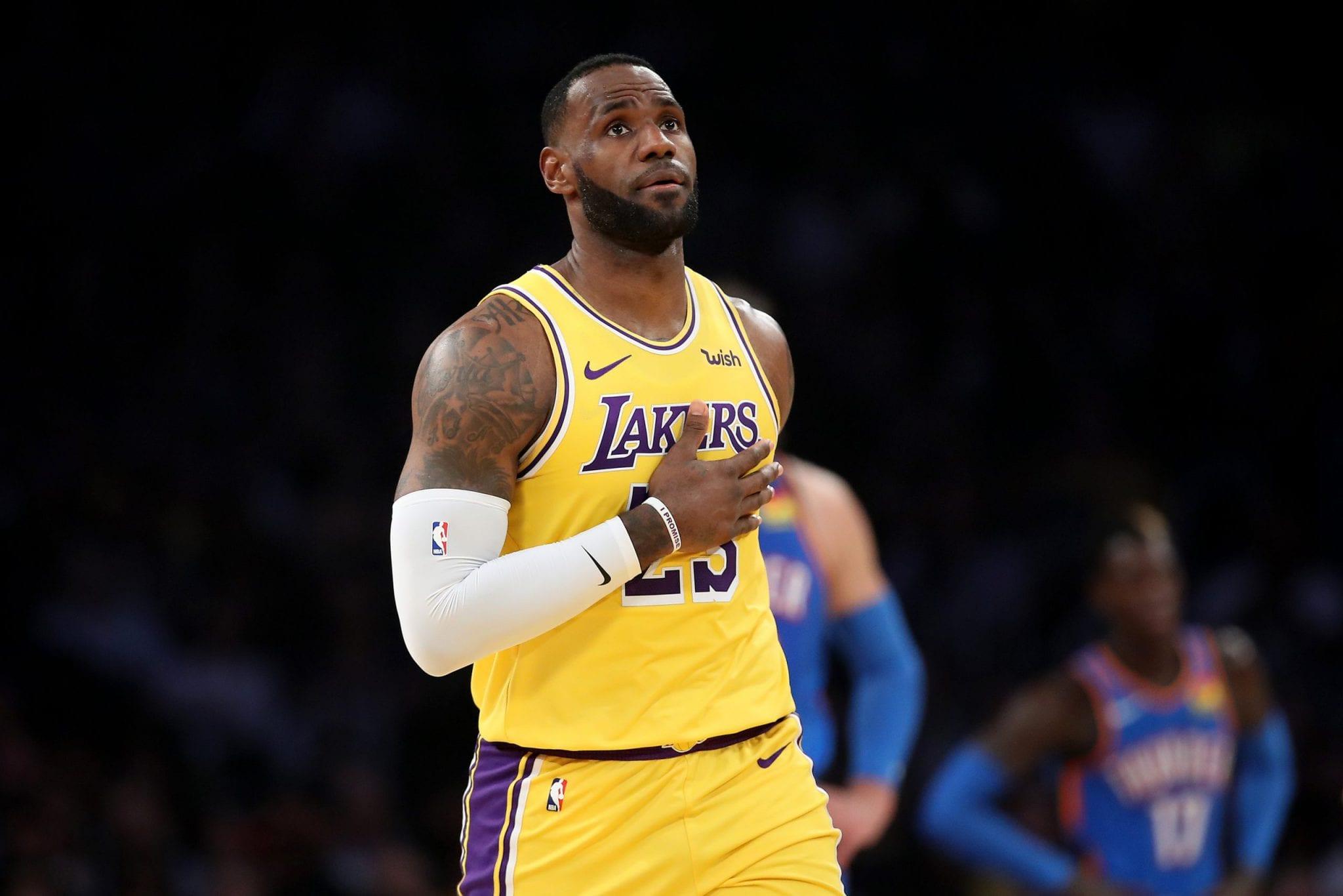 La manía de LeBron James… que no quiere cumplir durante la reanudación de la temporada